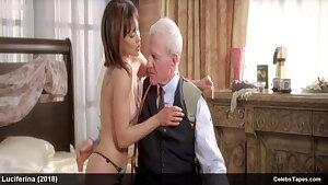 Lisa Catara & Valerie Dillman nude & striptease movie scenes