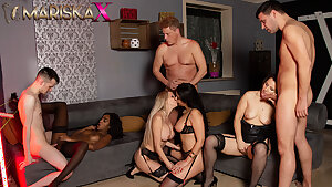 MARISKAX Intercourse with Mariska and her buddies - Part 3