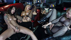 XDOMINANT 043 - Aged MISTRESS AND TWO YOUNG SLAVEGIRLS