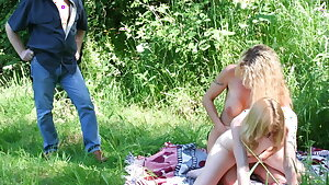 Lesbians caught by freak spycam
