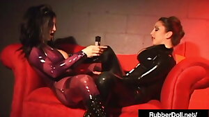 Hot Glossy Gals RubberDoll & Jewell Marceau Please Pussies!