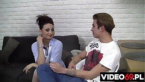 Polskie porno - Kaśka lubi na ostro