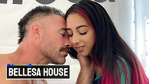 Bellesa - Hot Babe Kiarra Kai Gets Picked By Charles Dera And He Cums Inside Her Pussy