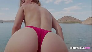 Youthful College Slut begs for Creampie on Spring Break Beach - Molly Pills - Public Lake Hiking Swimming Flashing Switch roles Cowgirl and the Best Blowjob from Busty Light-haired Nymphomaniac