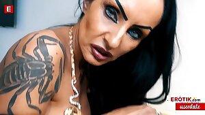 MYSTERIOUS Sidney Dark seduces User Max to FUCK her! (German) WHOLE SCENE → sidney.erotik.com FREE