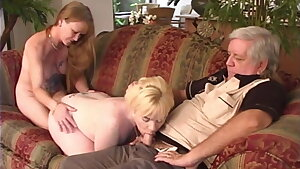 Grand Parents And their step-Grand Daughter