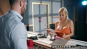 Brazzers - Mom Got Boobs -  The Big Rigid scene starring Alexis Fawx and Mike Mancini