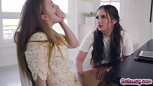 OMFG!!!!! This lesbian story is a true masterpiece! Lena Paul and Jade Baker hires the supah sexy babe Gia Paige to plan their wedding!
