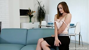 Beauty-Angels.com -Stacy Cruz - Babe chooses toy to real man rod