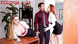 LETSDOEIT - Showcases Us What You Got Boss! Nobody Will Know (Bunny Colby & Lacy Lennon)