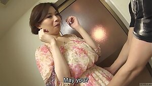 Uncensored sensuous Japanese Yuko Iijima stripped Subtitled