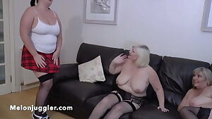 Sarah Jane in a dual mature girly-girl encounter