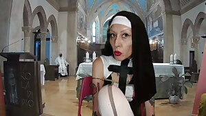 Sista Nun Miss Wagon Vegan - The mass of the fetishists